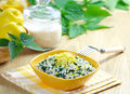 Risotto With Nettles And Lemon Stock Photo - 25942230