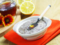 Flax Cereal With Honey And Lemon Stock Photo - 25959530