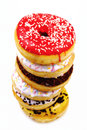 Stack Of Delicious Donuts Stock Image - 25960741