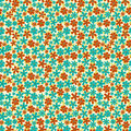 Seamless Pattern With Small Flowers Royalty Free Stock Images - 25963699