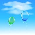 Two Balloons Stock Photography - 25964702