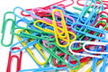 Paperclips Royalty Free Stock Image - 25969166