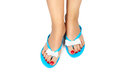 Pedicure&Slippers-2 Stock Photos - 25975123