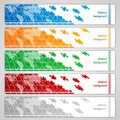 Puzzle Banners Stock Photography - 25978202