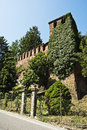 Ivy On Castle Tower Stock Images - 25979354