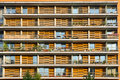 Balconies Of A Modern Building Royalty Free Stock Images - 25980489