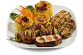 Dish With Various Meats And Potatoes Stock Photography - 25980602