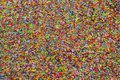 Crayon Shavings Of Different Colors Royalty Free Stock Images - 25995269