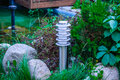 Lantern In The Garden Royalty Free Stock Photography - 25999147