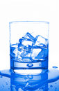 Water With Ice Cubes Royalty Free Stock Photos - 2603168