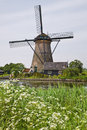 Windmill In Kinderdijk, Stock Image - 26006111