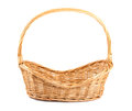 Empty Wicker Basket Royalty Free Stock Images - 26006429
