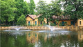 Ho Chi Minh S Residence Near The Pond Royalty Free Stock Images - 26010049