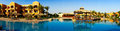 Wonderful  Hotel Swimming Pool In The Egypt. Royalty Free Stock Photos - 26010098