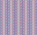 Seamless Floral Outlined Mosaic Pattern Royalty Free Stock Images - 26020339