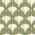 Seamless Pattern With Beige Floral Theme Royalty Free Stock Photo - 26029345