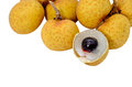 Longan Isolated On A White Stock Images - 26037874