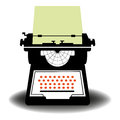 Typewriter Royalty Free Stock Photo - 26048545