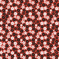 Seamless Pattern With Small Flowers Royalty Free Stock Photo - 26070765