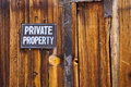 Private Property Stock Photography - 26071492