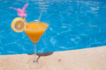 Cocktail By The Pool Stock Photos - 26088163