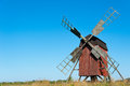 Old Wooden Windmill Stock Image - 26090311
