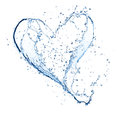 Water Heart Royalty Free Stock Image - 26093976