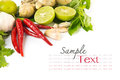 Fresh Herbs And Spices Royalty Free Stock Image - 26097336