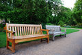 Old And New Bench Stock Photos - 2612023