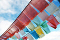 Prayer Flags In Tibet Royalty Free Stock Photography - 26103057