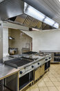 Interior Of The Industrial Kitchen Stock Images - 26105604