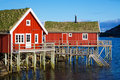 Rorbu Huts In Reine Stock Photography - 26119092