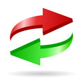Arrows Reload Icon Royalty Free Stock Photo - 26119815