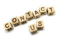 Contact Us Royalty Free Stock Photo - 26121355
