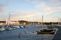 Small Harbour Stock Photo - 26134800