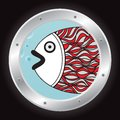 Fish In The Porthole Stock Photo - 26139320
