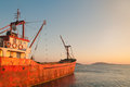 Cargo Ship Stock Images - 26140644