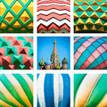 St. Basil Cathedral. Red Square In Moscow, Russia. Royalty Free Stock Image - 26144776