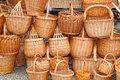 Wicker Baskets Royalty Free Stock Photography - 26146707