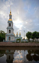 St. Nicholas Naval Cathedral In St.Petersburg Royalty Free Stock Photo - 26146815