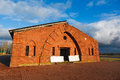 Destruction Of The Old Red-brick Barracks Royalty Free Stock Images - 26146939