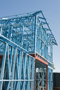 New Home Construction Framing Royalty Free Stock Image - 26151046