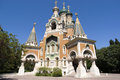 Russian Church In Nice Royalty Free Stock Photo - 26156255