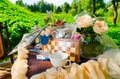 Tea Party In Park Royalty Free Stock Image - 26162926