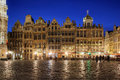 Grand Place, Brussels, Belgium Royalty Free Stock Photo - 26163105