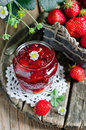Strawberry Jam Stock Image - 26169601