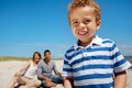 Cheerful Kid Having Fun With His Parents Royalty Free Stock Photo - 26175205
