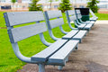 Empty Benches Stock Images - 2629174