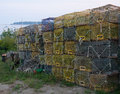 Lobster Traps Stock Photo - 26213980