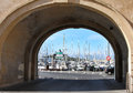 The Harbor Antibes,  France Royalty Free Stock Images - 26214689